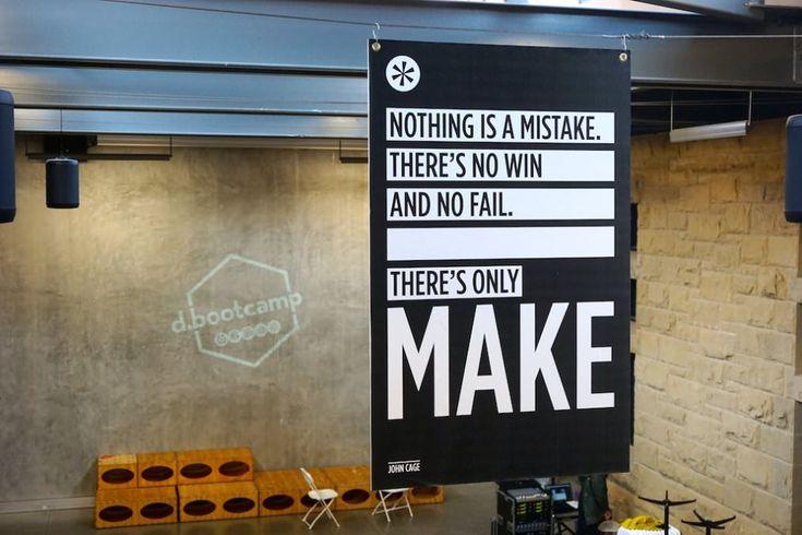 A difícil arte de assumir riscos - There's only make.