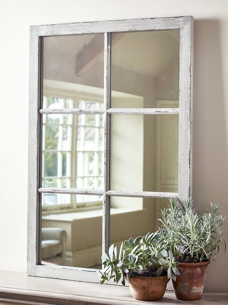 Rectangular Window Mirror  Decor  lighting  Window