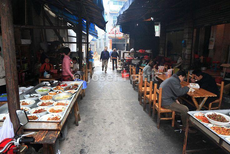 Street pub, Fenghuang Town, Hunan, China