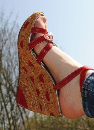 Kaufe meinen Artikel bei #Kleiderkreisel http://www.kleiderkreisel.de/damenschuhe/wedges/98052016-neue-wedges-aus-italien-echt-kork