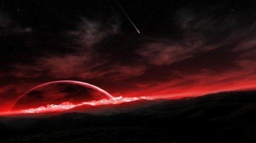 Shooting Star Wallpaper (1280x1024) - Black Desktop Background