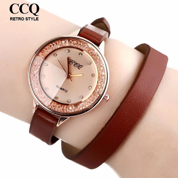 Goedkope 2016 Hot Fashion Vrouwen Jurk Horloges Lange PU Lederen Band Horloge Rhinestone Quartz Horloges, koop Kwaliteit vrouwen horloges rechtstreeks van Leveranciers van China:            kenmerken:    -100% nieuw en hoge kwaliteit.    -duurzaam rvs terug    -p