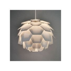 Tesco direct: Artichoke Style Ceiling Pendant Light Shade in White