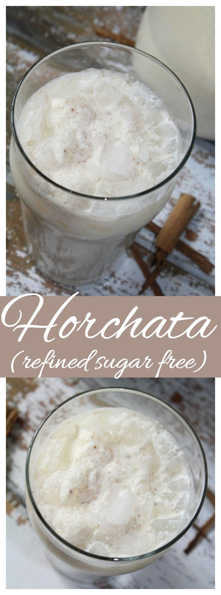 The easiest, creamiest, lightly sweetened Homemade Mexican Horchata.