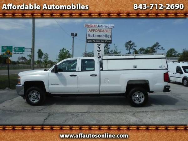 2015 Chevrolet Silverado 2500HD Work Truck Double Cab 2WD (Affordable Automobiles)