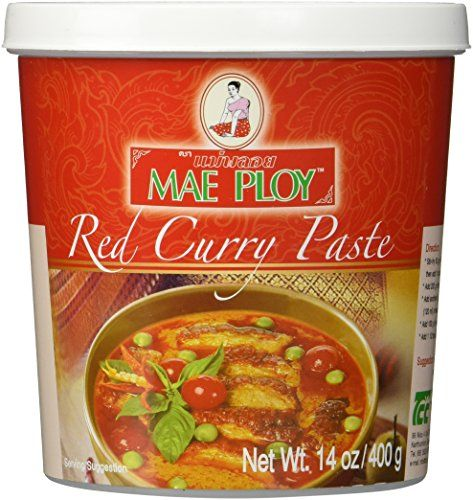 Mae Ploy Red Curry Paste, 14 oz Mae Ploy