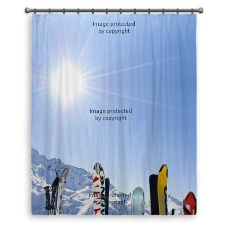 17 best images about ski house decor on pinterest school for Snowboard decor