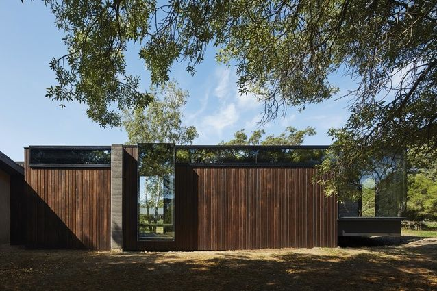 Tranquil and textural: A Pavilion Between Trees