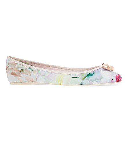 TED BAKER Bow Ballerina Pumps. #tedbaker #shoes #flats