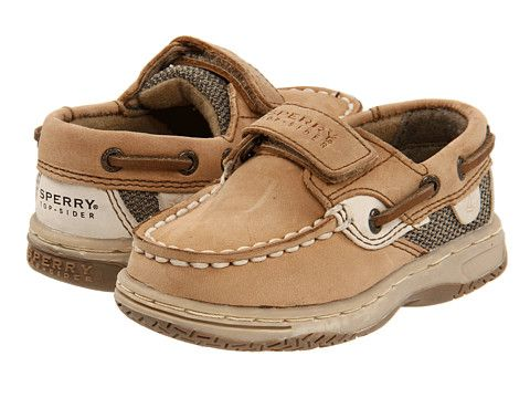 Sperry Kids Bluefish Hook & Loop (Infant/Toddler) from Zappos.com via http://pinpointing.apps.zappos.com