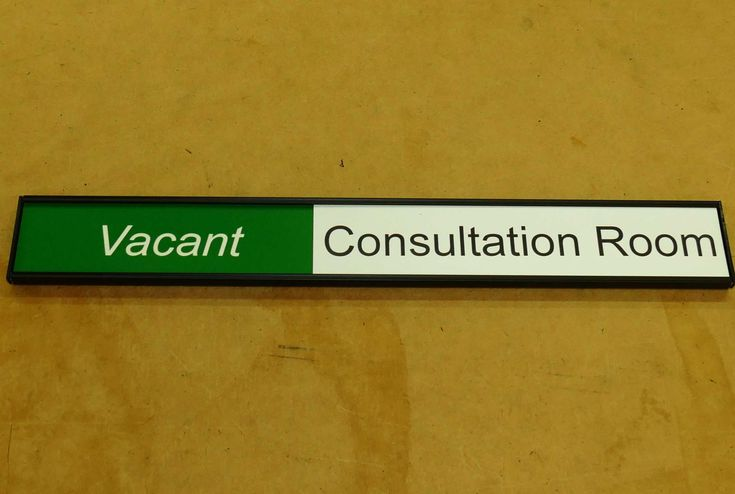 Meeting room signs with room status Choose from range of formats. Room name and status wordings set to whatever you require