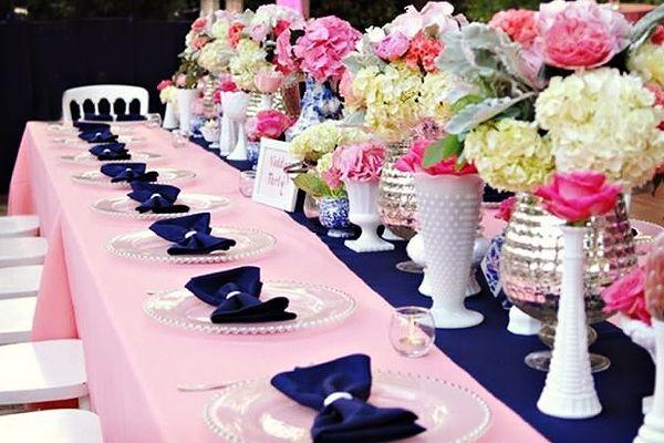 Ideas para combinar el color de las bodas del 2016 rosa for Ideas bodas 2017