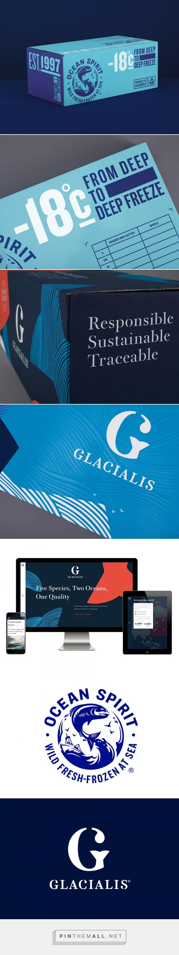 Check Out This Packaging for a Sustainable Seafood Brand — The Dieline | Packaging & Branding Design & Innovation News - created via https://pinthemall.net