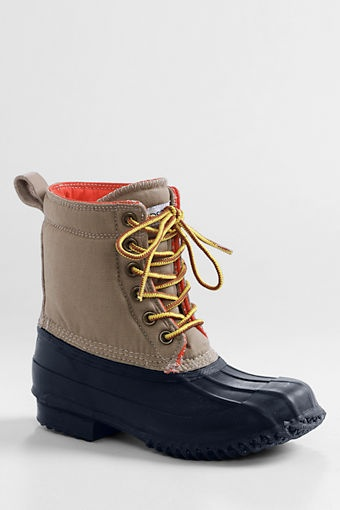 Boys' Duck Boots from Lands' End