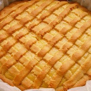 Лимонный пирог из песочн…