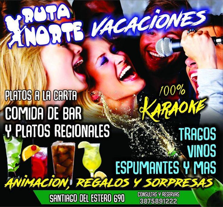 Tus previas tienen nombre #RutaNorte / Santiago del Estero 690  #Vacaciones #Salta #Karaoke #PlatosRegionales #Musica #Espectaculo #Show #Entretenimiento #Arte #Cultura #Turismo #Argentina #PasaLaData #QueHacemosSalta #QHSalta #QHS Toda la info que necesitas la podes encontrar aquí  http://quehacemossalta.com/