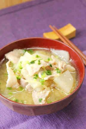 あったか♡豚バラ大根の生姜味噌汁の画像