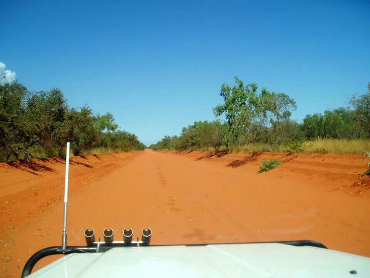 The Road to Cape Leveque, Broome Western Australia by Amanda Paul
