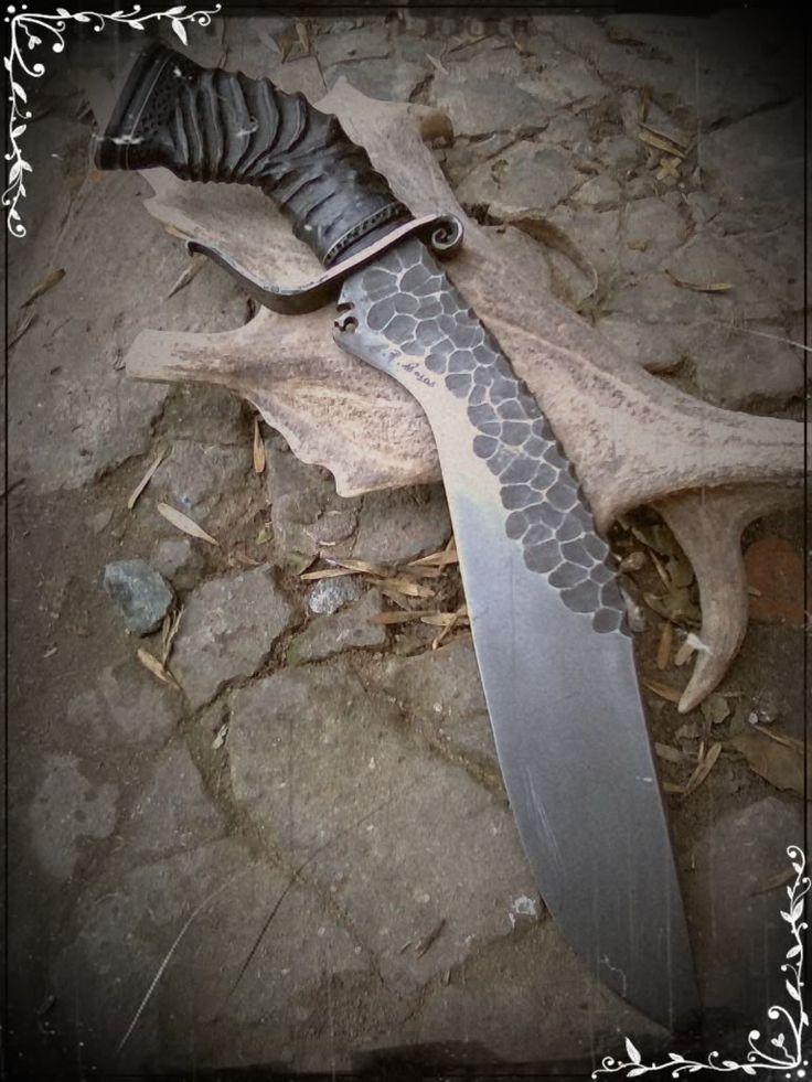 FORO ARMAS BLANCAS - Cuchillos, navajas y más. - KUKRI DE PIEDRA Y ANTILOPE - Artesania en la Cuchilleria