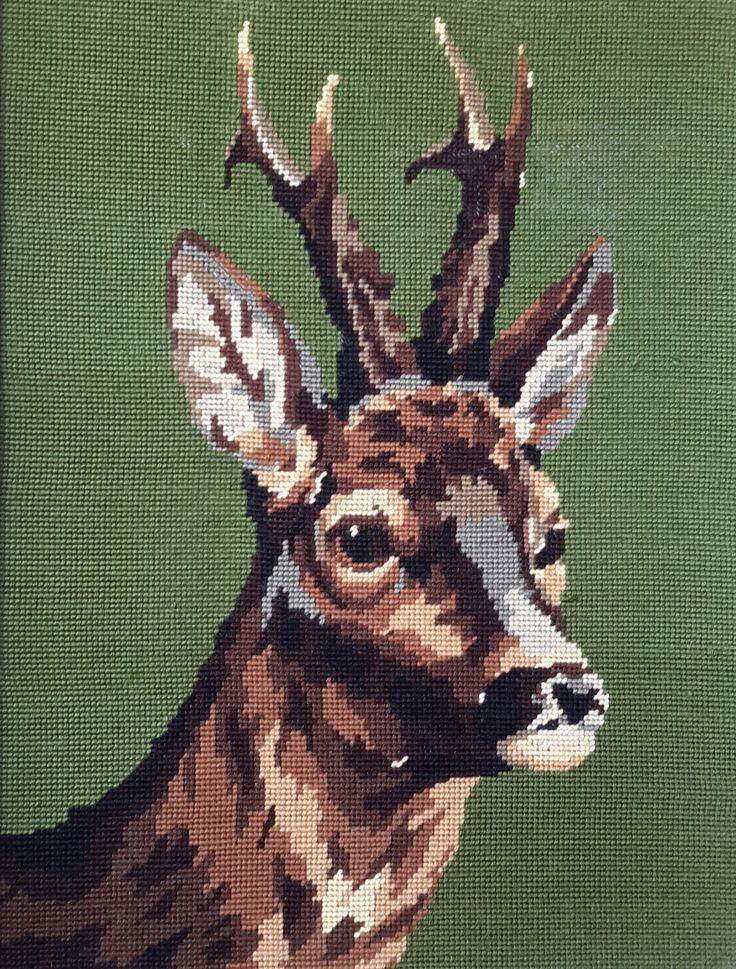 H43cm x W 32cm Young stag head | Fleur Susannah