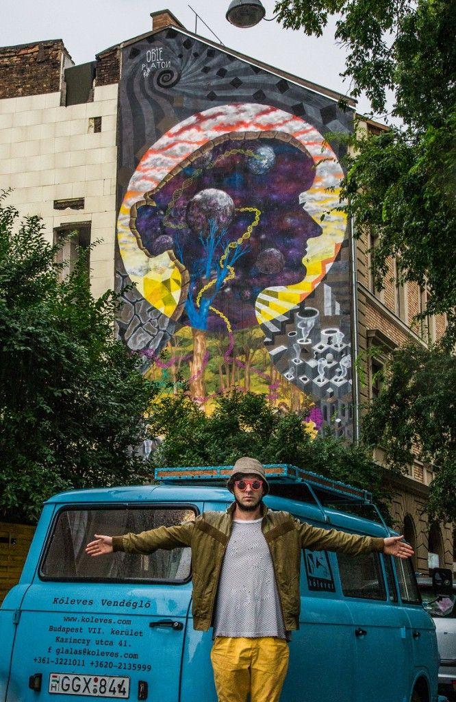 Mother Earth  Budapest, Kazinczy street. 37, 1075 by Obie Platon