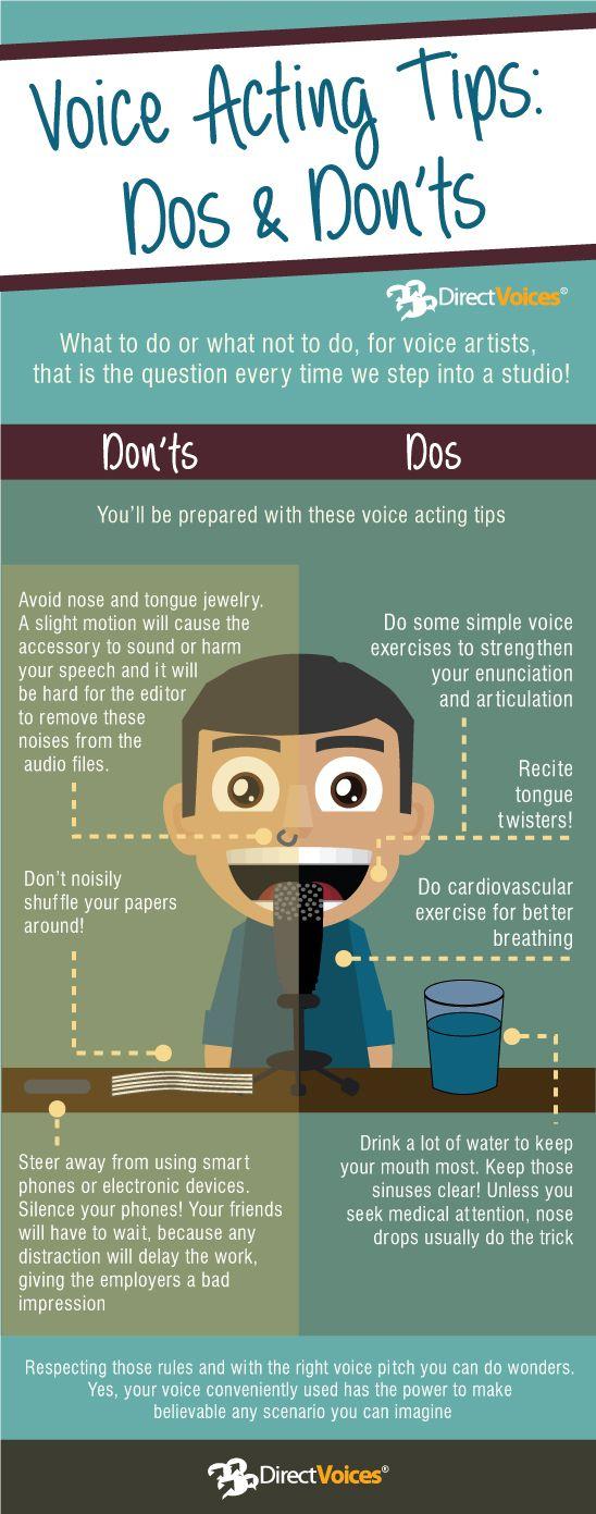 Voice Acting Tips: Dos & Don'ts