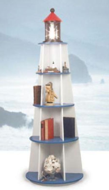 26 lighthouse shelf - Amish Lighthouse Plans