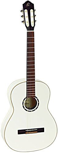 Ortega Guitars R121SNWH Family Series Slim Neck Nylon 6String Guitar with Spruce Top Mahogany Body White Gloss >>> For more information, visit image link.Note:It is affiliate link to Amazon.