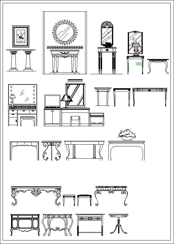 Furniture Elevation Sofa Elevation Chair Elevation