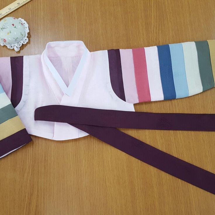 #색동저고리#한복#여아한복#한복만들기#hanbok