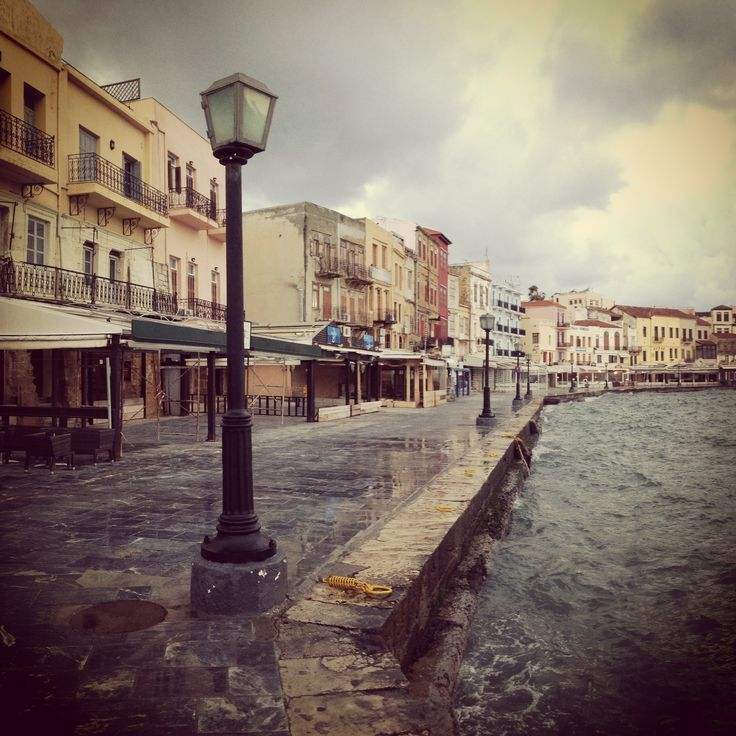 Cloudy Day! #Winter in #Chania
