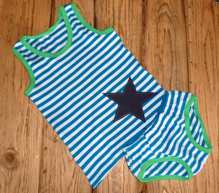 Unterwäsche-Set für Jungen nähen: Schnitt für Kinder-Wäsche aus Jersey