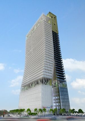 Unification Tower | Hanoi, Vietnam | Residential | Projects | Bruce Henderson Architects