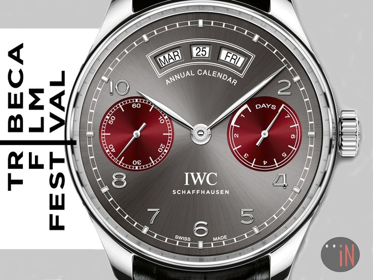 """Watching Movies Thanks To Watches!"" https://tribecafilm.com/festival/ #IWC Portugieser Annual Calendar 2016 Tribeca Film Festival Ref#: 503506 * EMAIL FOR INQUIRIES!  http://blog.elementintime.com/index.php/iwc-at-tribeca-film-festival-2016/#more-8916"