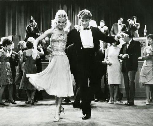 Patrick Swayze and Cynthia Rhodes | Home » Cynthia Rhodes » Cynthia Rhodes Dancing With Patrick Swayze