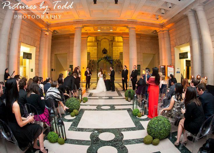 Magic Garden Themed Wedding At Free Library Of Philadelphia