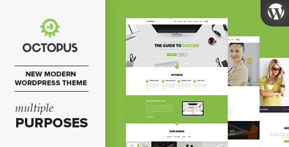 cool Octopus - Multipurpose Business WordPress Theme (Business)