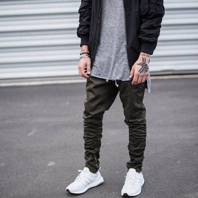 Drop Crotch Pants Exclusive to TakeClothe