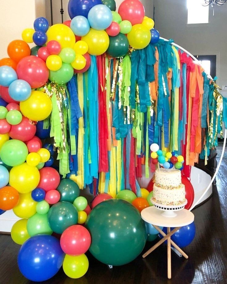 Pin De Cesarito Moscoso En Decoracion Decoración Con Globos Cumpleaños Decoración De Fiesta Arco De Globos