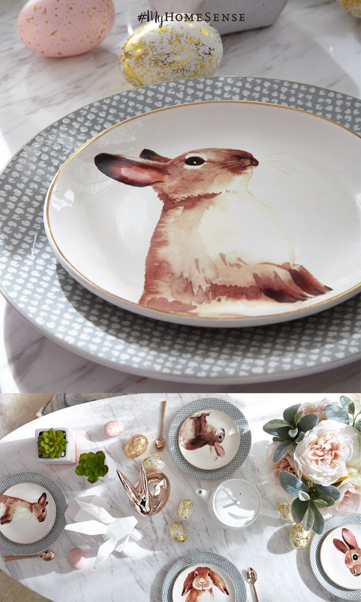 Hop down the bunny trail to a HomeSense near you to find fabulous Easter décor perfectly priced. Adorable accessories, darling dishes and fantastic faux flowers come together to create an unforgettable #MyHomeSense Easter tablescape. Visit our website to find a HomeSense near you!