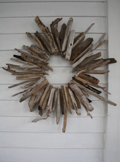 driftwood wreath
