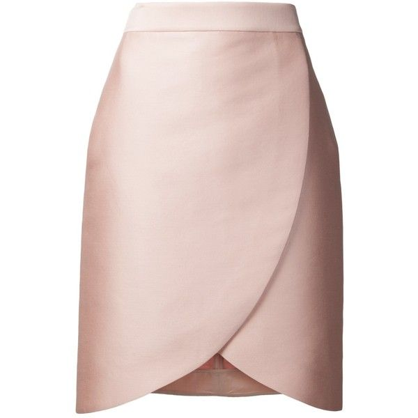 STELLA MCCARTNEY tulip pencil skirt (915 CAD) ❤ liked on Polyvore featuring…