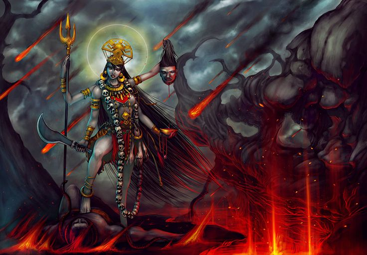 Kali - Monster Wiki - a reason to leave the closet closed and saw the legs off your bed
