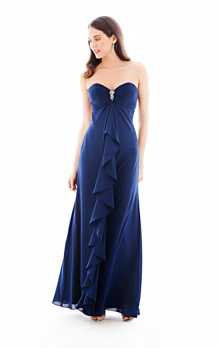 1127 best bridesmaids flower girls images on pinterest 21 navy bridesmaid dresses that your maids will love ombrellifo Images