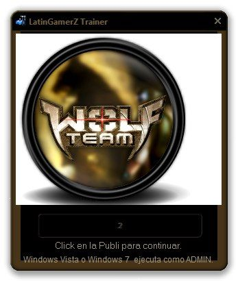 Trainer WolfTeam v12.0 [Hack Lobo/Fly/Crosshair/Callsing/Return][Actualizado]