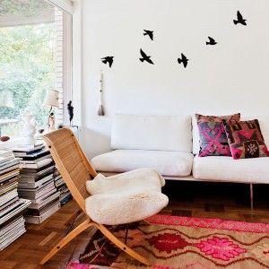 Vinilo Decorativo Pájaros