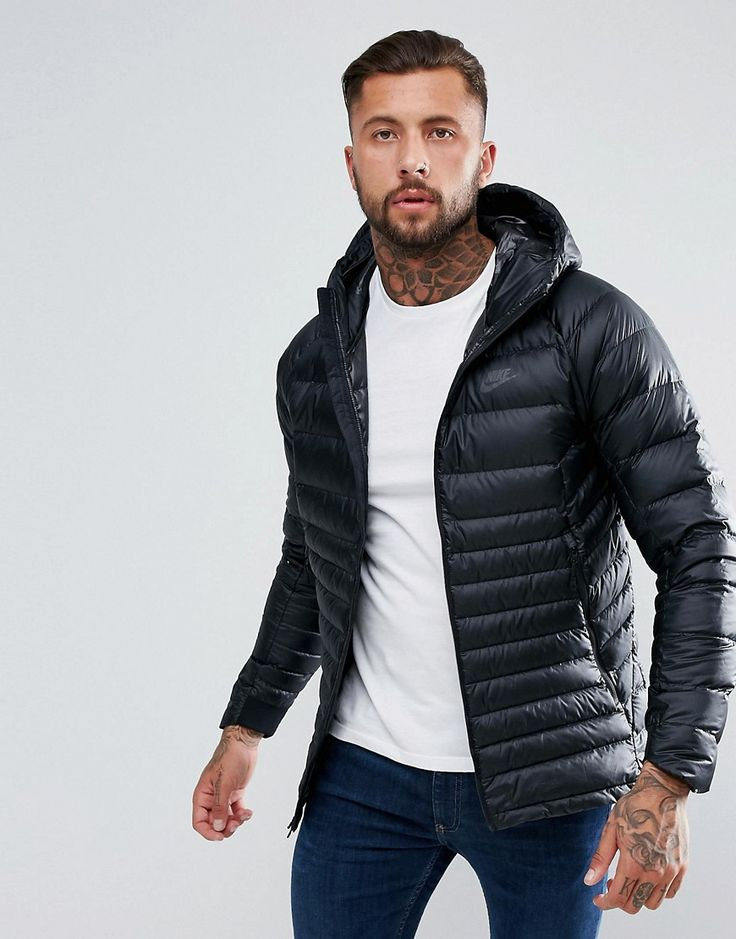 Get this Nike's quilted jacket now! Click for more details. Worldwide shipping. Nike Down Filled Jacket With Hood In Black 866027-010 - Black: Jacket by Nike, Supplier code: 866027-010, Smooth woven outer, Down padding for extra warmth, Packable design, Can be folded into pocket for easy storage, Hooded neck, Raglan sleeves, Zip fastening, Nike Swoosh logo, Regular fit - true to size, Machine wash, 100% Polyester, Our model wears a size Medium and is 192cm/6'3.5 tall. Back in 1971 Blue…