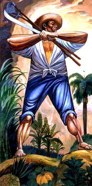 ''El agricultor'' Augusto Marín - Puerto Rico.