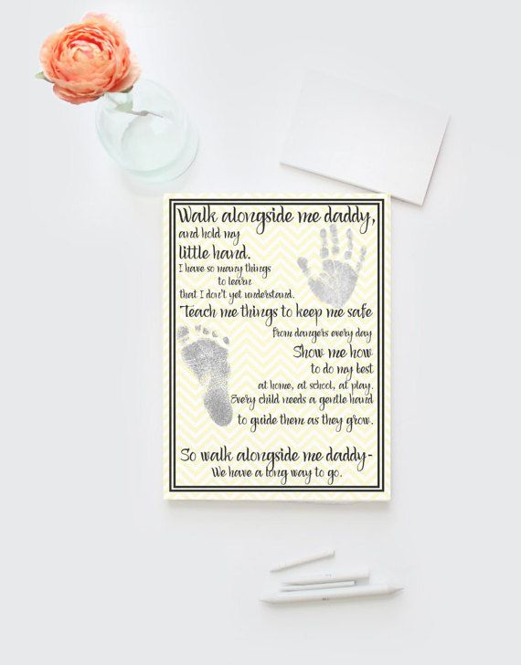 Fathers Day new dad artwork DIY printable by Papierscharmants