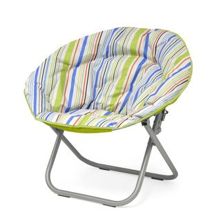 Shop for Urban Shop Polyester and Metal Surfer Stripe Saucer Papasan Chair. Free Shipping on orders over $45 at Overstock.com - Your Online Furniture Outlet Store! Get 5% in rewards with Club O!